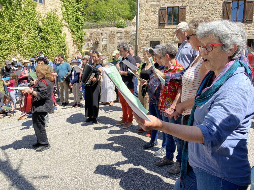 Inauguration du chemin Anne Sylvestre